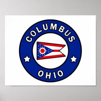 Poster Columbus Ohio