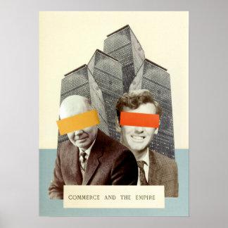 Poster Commerce et l'empire