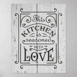 Poster Conception de citation de cuisine