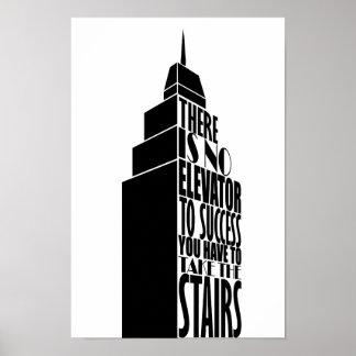Poster Conception de citation d'encouragement