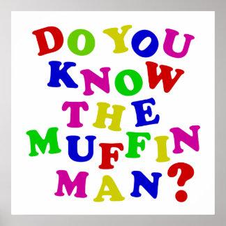 Poster Connaissez-vous l'homme de petit pain ?