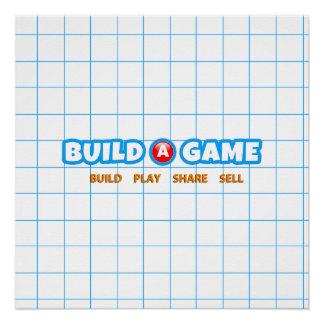 Poster Construisez une affiche de jeu