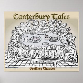 Poster Contes de Cantorbéry
