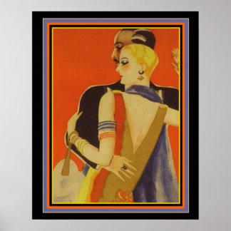 Poster Copie 16 x 20 de Deco de couples de danse