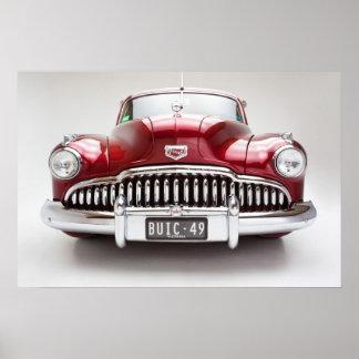Poster Copie 1949 superbe de Buick huit
