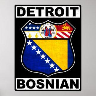 Poster Copie américaine bosnienne d'affiche de Detroit