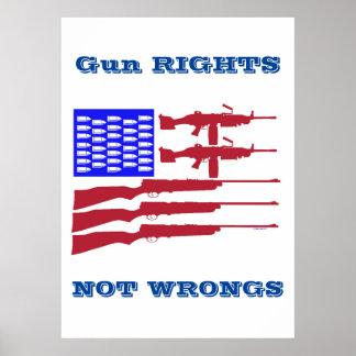 Poster Copie archivistique de droits et de maux d'arme à