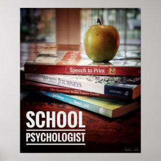 Poster Copie d'affiche de bureau de psychologue d'école