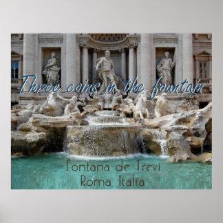Poster Copie d'AFFICHE de ROME Italie