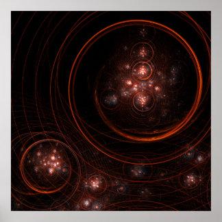 Poster Copie d'art abstrait de Starlight