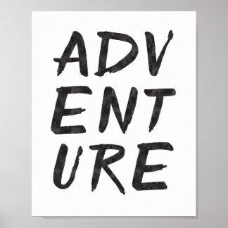 Poster Copie d'art d'aventure