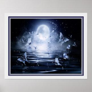 "Poster Copie de 16x20 de ""Luna De light"""