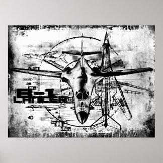 Poster Copie de B-1 Lancer