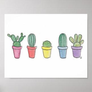 Poster Copie de cactus