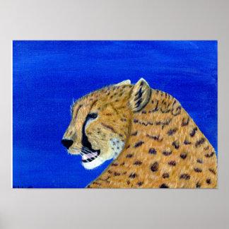 Poster Copie de guépard