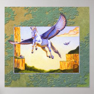 Poster Copie de MESA Pegasus de MtG