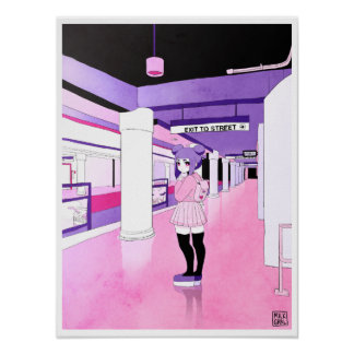 Poster Copie de souterrain