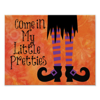 Poster Copie de Witchy Halloween
