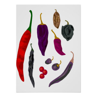 Poster Copie d'épice de piments