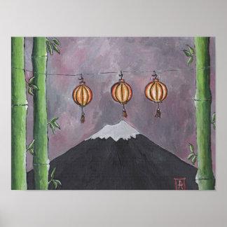 Poster Copie du mont Fuji