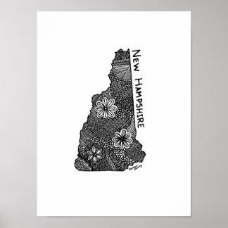 Poster Copie du New Hampshire