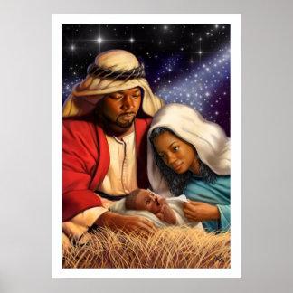 Poster Copies saintes d'art de peinture de famille