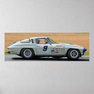 Poster Corvette