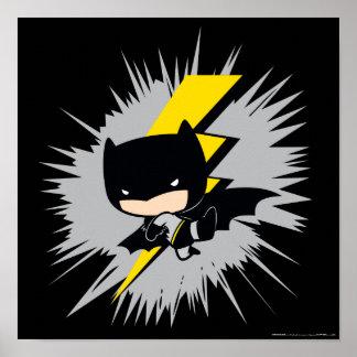 Poster Coup-de-pied de foudre de Chibi Batman