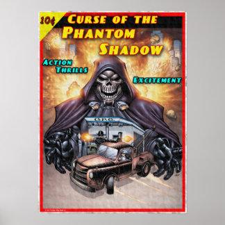 Poster Courrier fantôme d'ombre