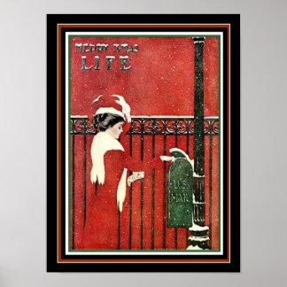Poster Couverture 12 x 16 de Noël de la vie de Coles