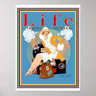 Poster Couverture Coles Phillips de voyage de la vie de