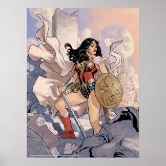 Poster Couverture comique #13 de femme de merveille