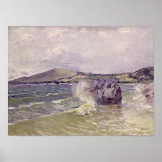 Poster Cove de Madame, baie de Langland, Le Mati d'Alfred