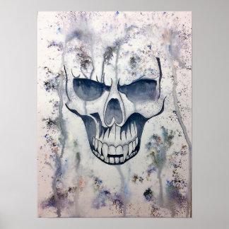 Poster crâne de vampire