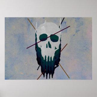 Poster crânes