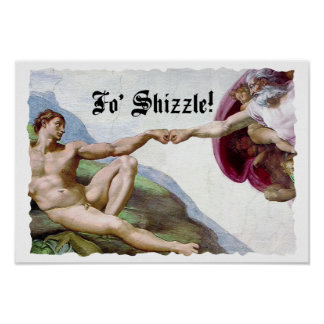 Poster Création de Michaël Angelo de la bosse FO Shizzle