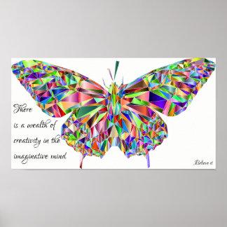 Poster Créativité - croyez-la