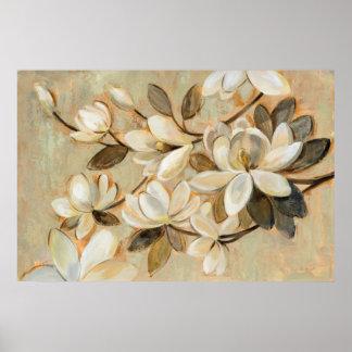 Poster Crème de simplicité de magnolia