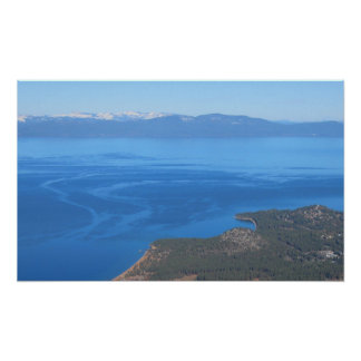 Poster Crique de zéphyr chez le lac Tahoe