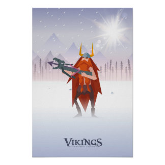 Poster Crossbow viking Posters
