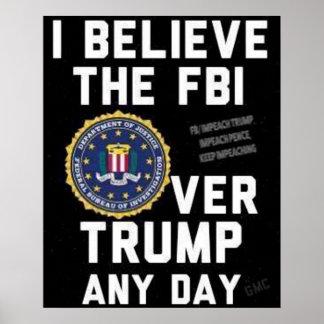 Poster Croyez l'affiche de FBI
