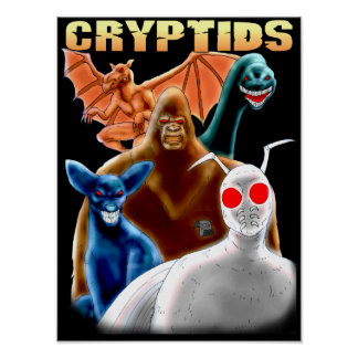 Poster Cryptids