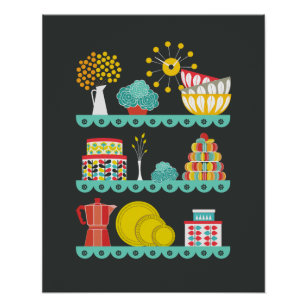 Posters affiches cuisine moderne - Poster cuisine moderne ...