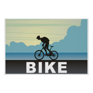 Poster Cycliste,
