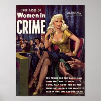 Poster Dame de salle de danse