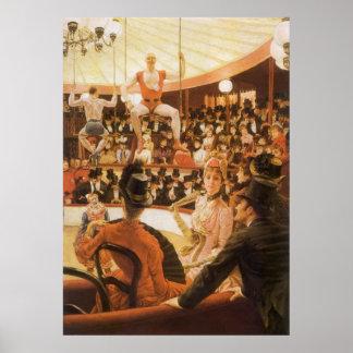 Poster Dames sportives (aka amant de cirque) par James
