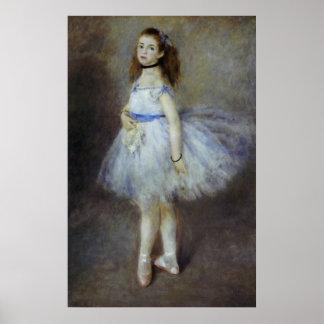Poster Danseur classique par Pierre Renoir, beaux-arts