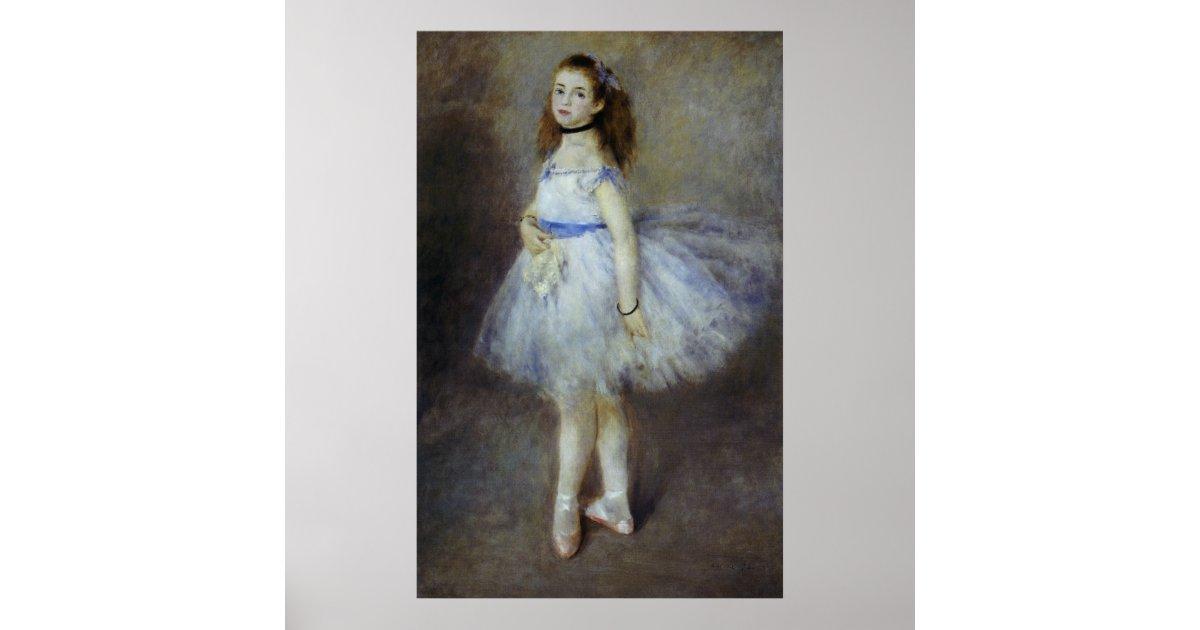 Poster danseur classique par pierre renoir beaux arts for Renoir maison classique
