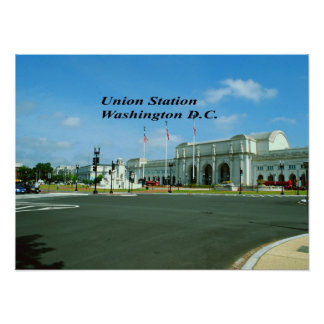 Poster DC de Washington