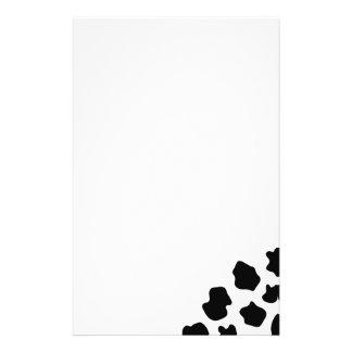 Poster de animal drôle de la papeterie   de motif  papier à lettre